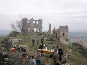 Turniansky hrad - Dobrovolnici