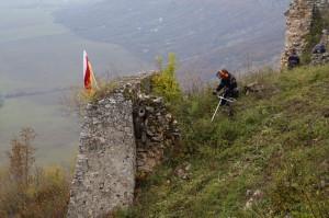 Tornai vár gazvágás a déli oldalon