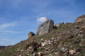A várhegy déli oldala