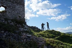 Az MTVA munkatársai forgattak a  Kárpát expresz című műsorukba